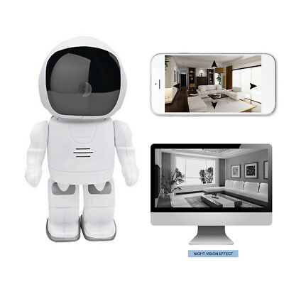 Robot Monitor Camera WiFi Wireless Security Camcorder HD Night Vision Smart Cam
