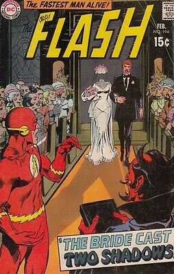 Flash, The 194 Strict 1970 VG 4.0 Affordable-Grade Bride Cast Two Shadows 50%Off