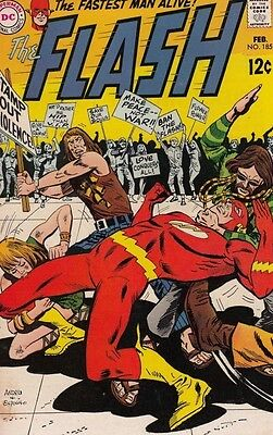 Flash, The 185 Strict 1969 FN+ 6.5 Mid-High-Grade 50% Off Sale JLA Members Ends
