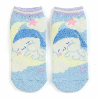 F/S Cinnamoroll Fluffy SOCKS 4.5 - 6.5 in 23-25 cm Adult Lady Woman Sanrio JAPAN