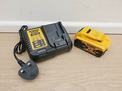 Dewalt Dcb184 18V 5 Ah Xr Li-Ion Battery + Dcb115 Fast Multi Charger
