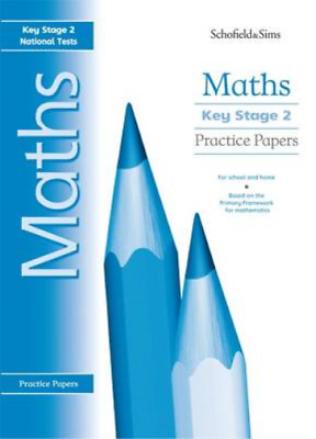 Key Stage 2 Maths Practice Papers: Years 3 - 6, Steve Mills & Hilary Koll, Used;