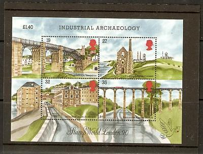 Gb Sgms1444 1989 Industrial Archaeology Mnh