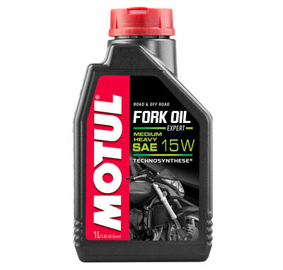 Motul Gabelöl Fork Oil Expert Heavy Medium SAE 15W synthetisch Road + Offroad 1