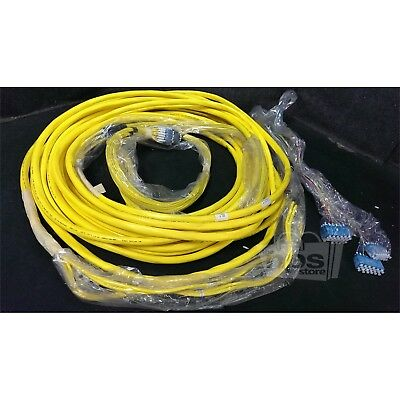 Afl Optical OFNR FT4 Type Yellow 90ft 48-Fiber Optical Cable