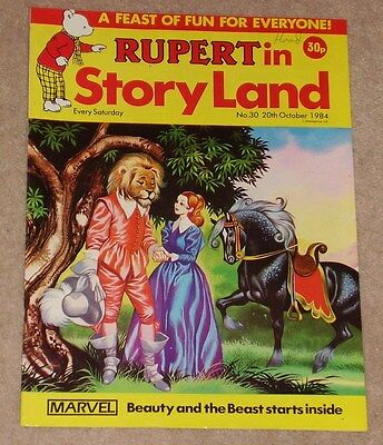 RUPERT BEAR COMIC RUPERT IN STORYLAND NO. 30 DATED 20th OCTOBER 1984