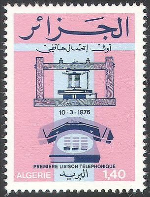 Algeria 1976 Telephone/Inventions/Science/Technology/Communications 1v (n41391)