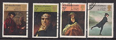 GB 1973 QE2 British Paintings (3rd series) set of used stamps ( A1153 )