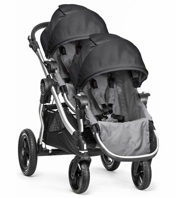 Baby Jogger 2017 City Select Double Stroller - Black Grey - Frame - Brand New