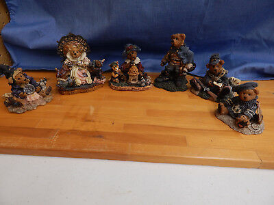 Boyd's Bears & Friends Lot of 6 Figurines - No Reserve!