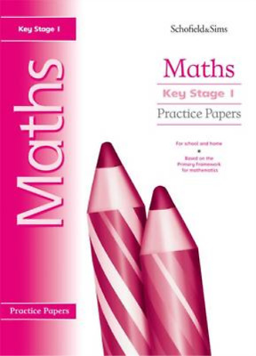 Key Stage 1 Maths Practice Papers: Years 1 & 2, Steve Mills & Hilary Koll, Used;