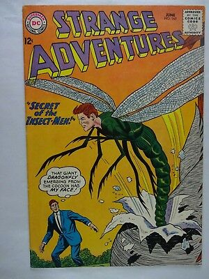 Strange Adventures #165   High Grade VF   Secret of the Insect-Men   Silver