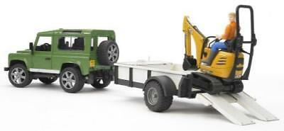 Bruder 02593 Land Rover Defender plus Zub.