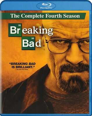 Breaking Bad - The Complete Fourth Season (Blu-Ray) (Blu-Ray)