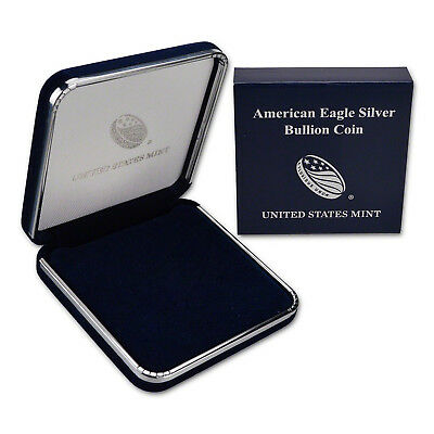 American Silver Eagle US Mint Gift Box - No Coin