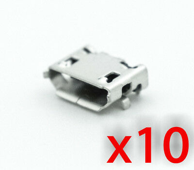 10x Micro USB Type B SMD/SMT Connector Female Right Angle 10118194-0001LF 10pcs