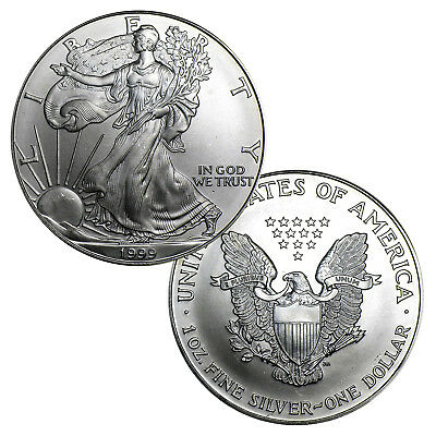 1999 $1 American Silver Eagle - Brilliant Uncirculated