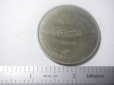 Ford - Woodhaven, MI Stamping Plant 25 Years medal 1965-1990