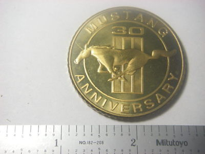 Ford Mustang 30th anniversary medal 1994