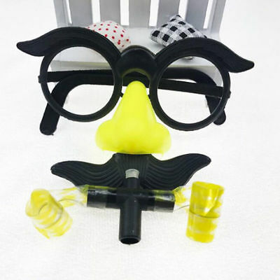 1 Set Wedding Photo Booth Decor Nose Glasses Costume Funny Accessory