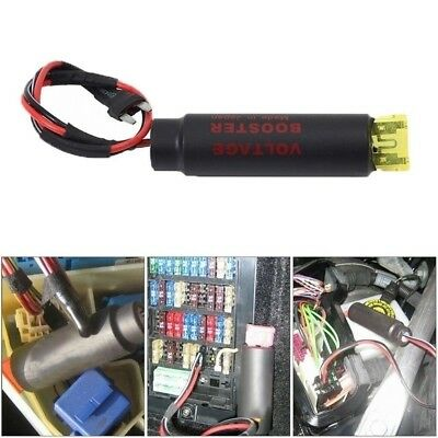 Universal Vehicle Ignition Coil Booster Voltage Booster Spark Booster
