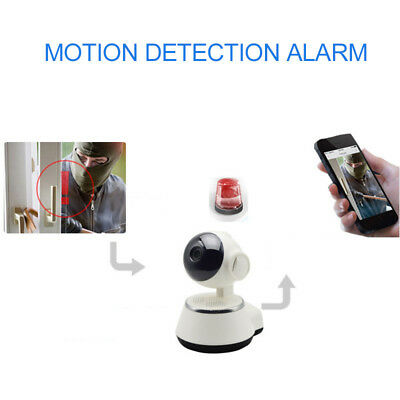 Wireless Home Surveillance Camera 360 Panoramic Camcorder Rotated Monitor Camera