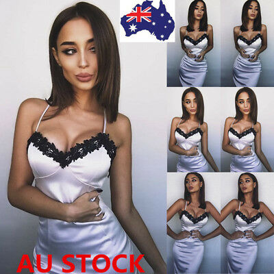 Women Sexy Lace Lingerie Sling Sleep Dress Nightwear Babydoll Sleepwear Skirt