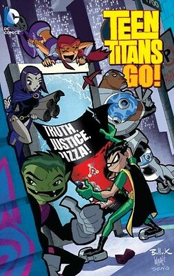Teen Titans Go Truth Justice Pizza TP (Paperback), Nauck, Todd, B. 9781401261962