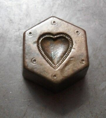 Vintage - India Hand Engraved - Jewelry Maker's - Beautiful  Die Mold Nc003