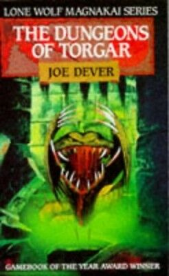 The Dungeons of Torgar (Lone Wolf) by Dever, Joe Paperback Book The Cheap Fast