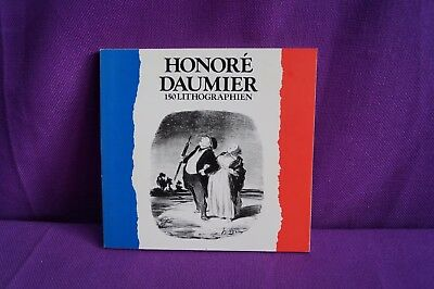 Honore Daumier 150 Lithographien Buch
