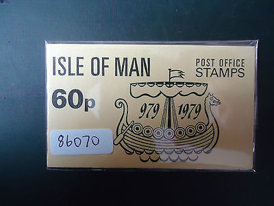 GB Isle Of Man 1979 60p Booklet (SB 10) MNH