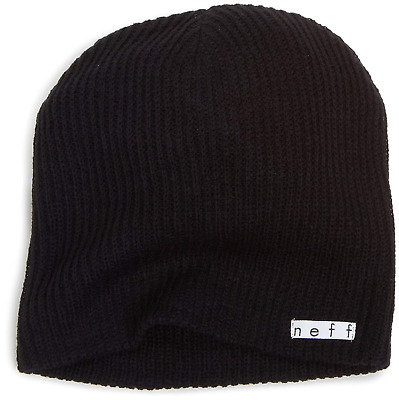 3a7101f2667 NEFF MEN S DAILY Beanie Hat Color  Black Free Shipping Brand New ...