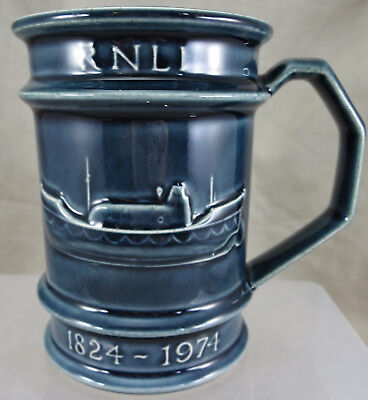 RNLI 1974 150th Anniversary Mug by Holkham Pottery
