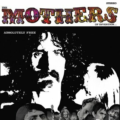 "Frank Zappa - The Mothers Of Invention - Absolutely Free (NEW 2 x 12"" VINYL LP)"