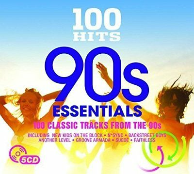 Various Artists - 100 Hits: 90s Essentials - Various Artists CD UWVG The Fast