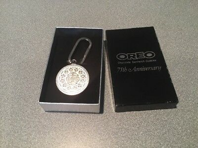1986 OREO COOKIE 75th Anniversary Key Chain NEW IN ORIG BOX
