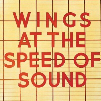 Wings - Wings At The Speed Of Sound (NEW CD)