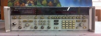 HP Agilent Keysight 8673E Synthesized Signal Generator 2.0-18.0 GHz