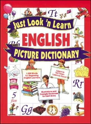 Just Look 'n Learn English Picture Dictionary (Hardcover), Hochst. 9780071408332