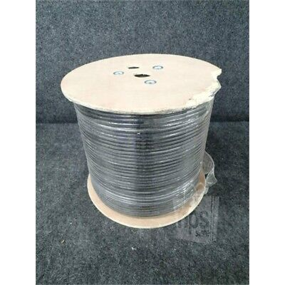 Outdoor CAT6 Cable, 1000ft Spool, 23AWG, Black 906833*