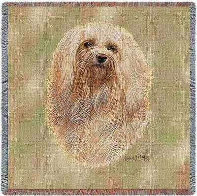 Lap Square Blanket - Havanese by Robert May 3306 IN STOCK