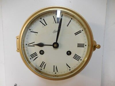 Vintage Schatz Ships 8 days clock service by a professional clockmaker.