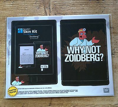 Amazon Kindle 4th Gen DecalGirl Matte Skin Kit  ~ Dr Zoidberg by Futurama New