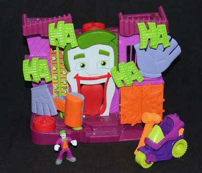 Fisher-Price Imaginext DC Super Friends The Joker's Fun House Sounds EUC