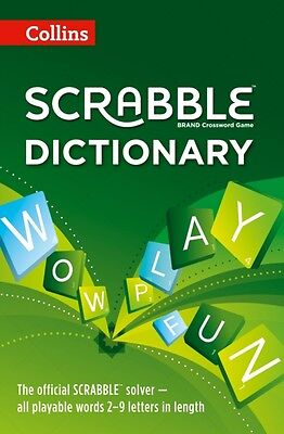Collins Scrabble Dictionary: The official Scrabble solver - all playable words .