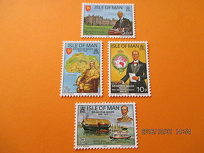 Isle Of Man 1975 Death Anniversary Of Sir George Goldie  U/mint Free Postage