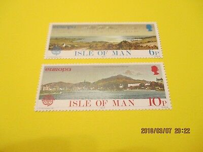 Isle Of Man 1977 Europa Landscapes  Set,  U/mint, Free Postage
