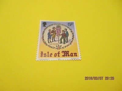 Isle Of Man 1978 Christmas U/mint Free Postage