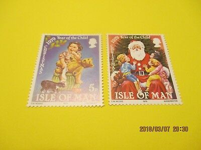 Isle Of Man 1979, Christmas Set, U/mint Free Postage
